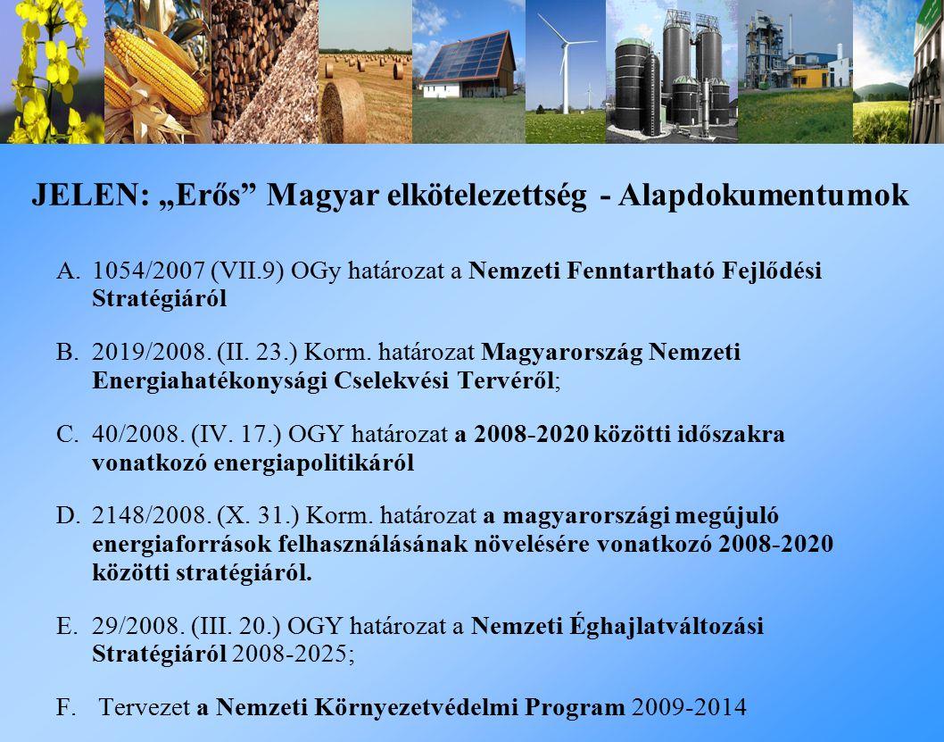"""JELEN: """"Erős Magyar elkötelezettség - Alapdokumentumok"""