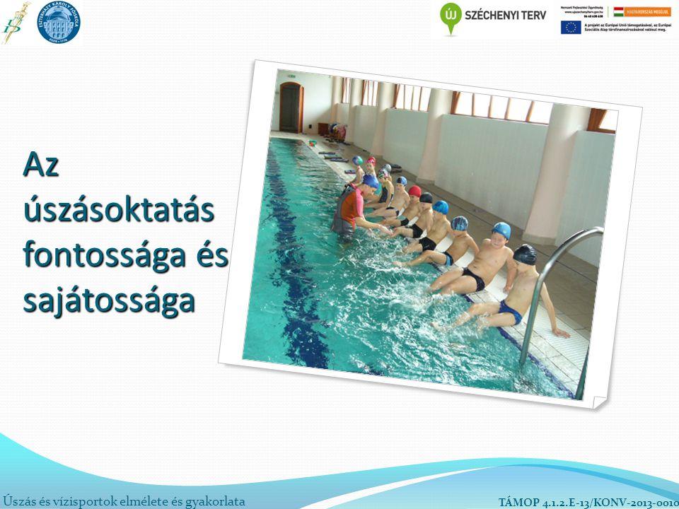 Az úszásoktatás fontossága és sajátossága