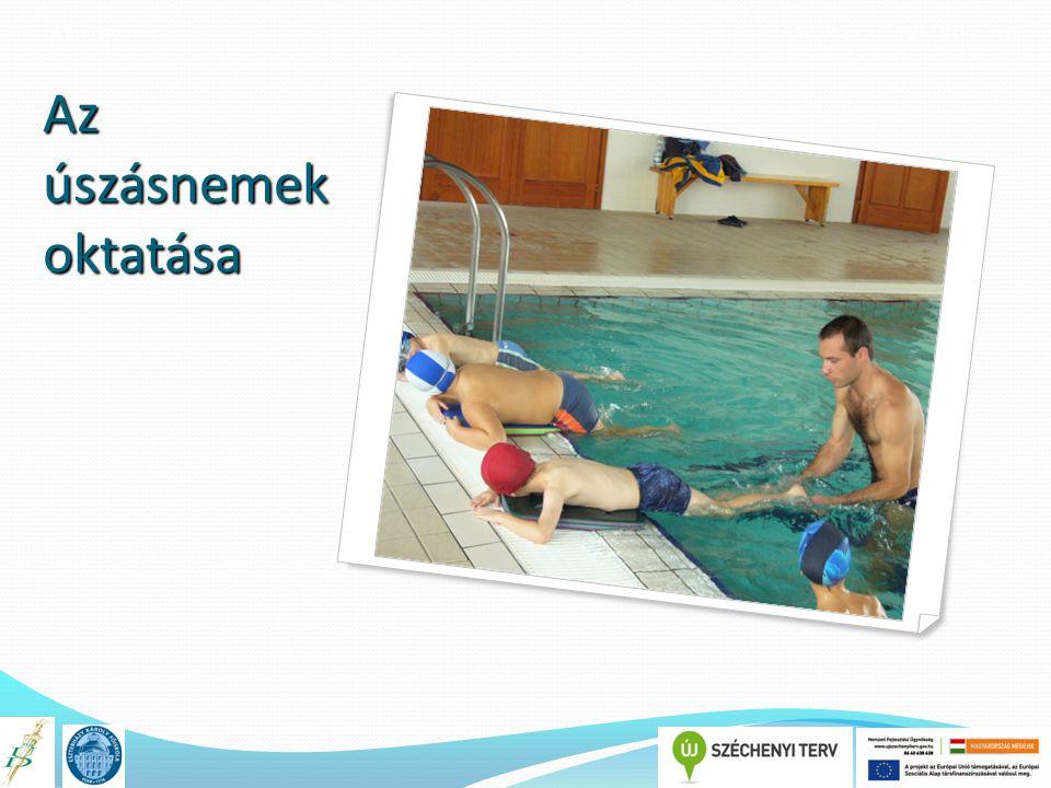 Az úszásnemek oktatása