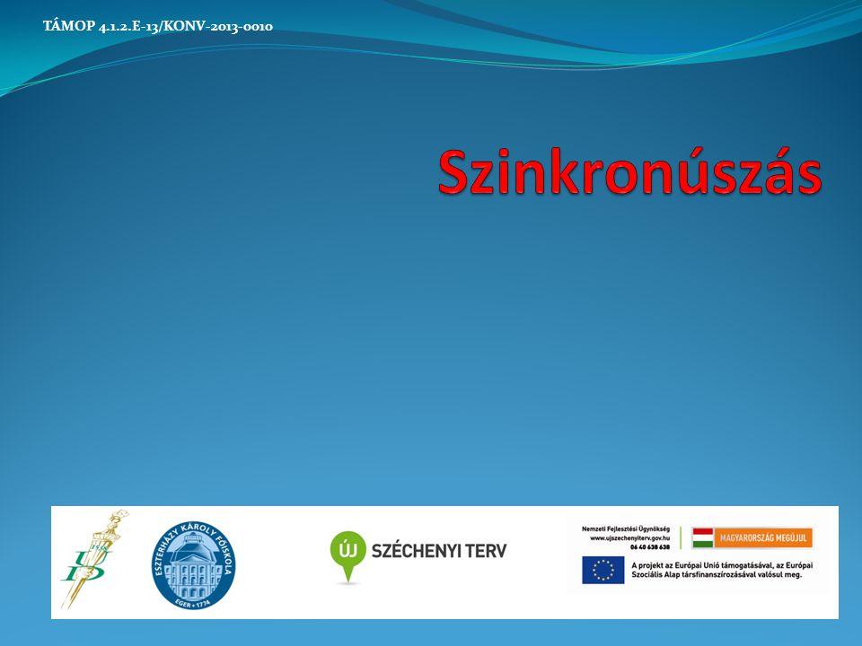 Szinkronúszás TÁMOP 4.1.2.E-13/KONV-2013-0010