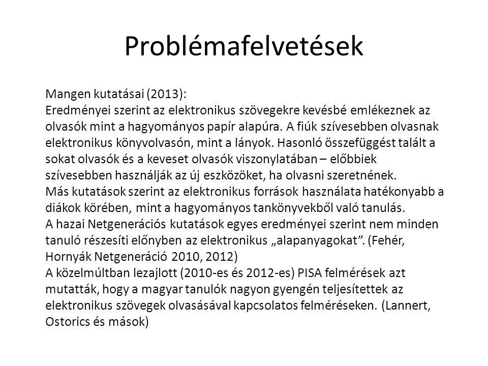 Problémafelvetések