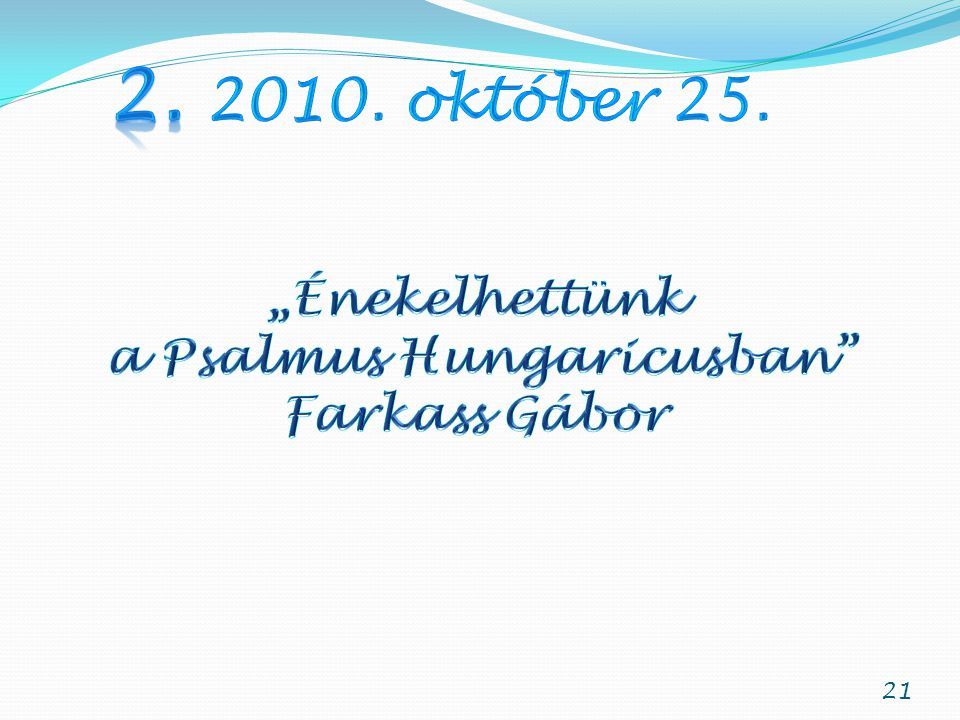 a Psalmus Hungaricusban