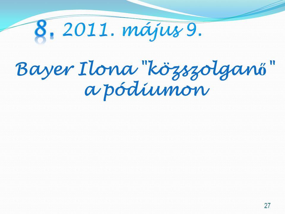 Bayer Ilona közszolganő