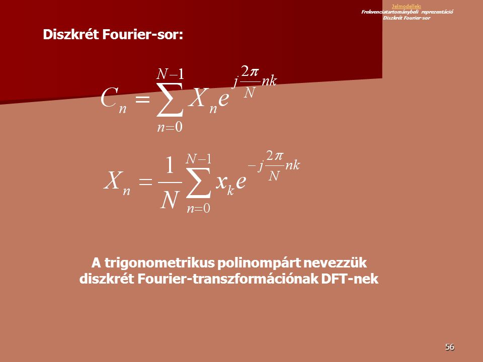 Diszkrét Fourier-sor: