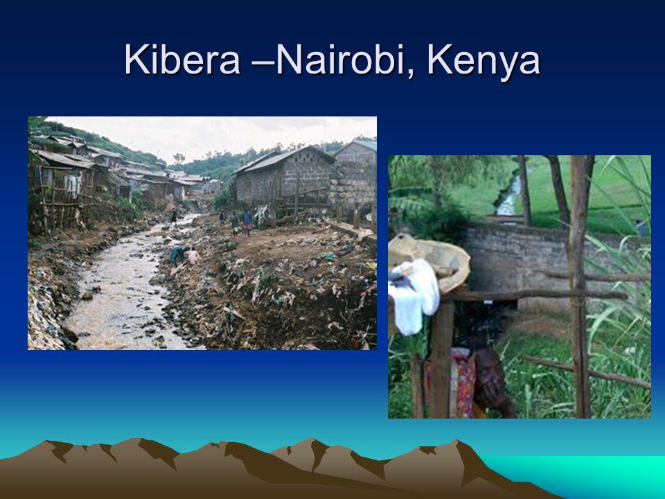 Kibera –Nairobi, Kenya