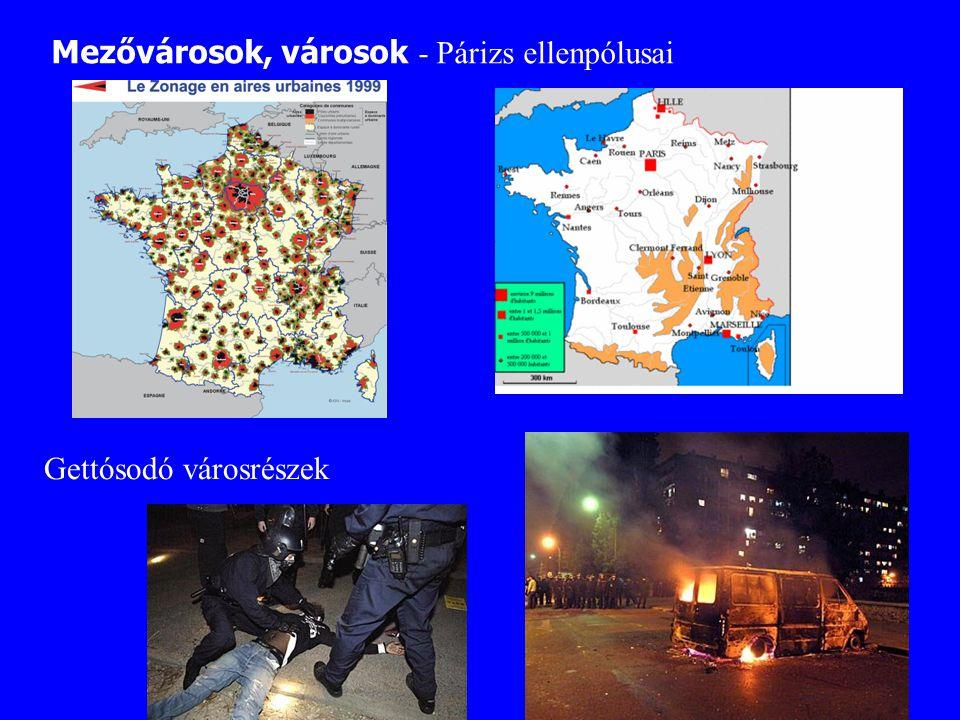 Mezővárosok, városok - Párizs ellenpólusai
