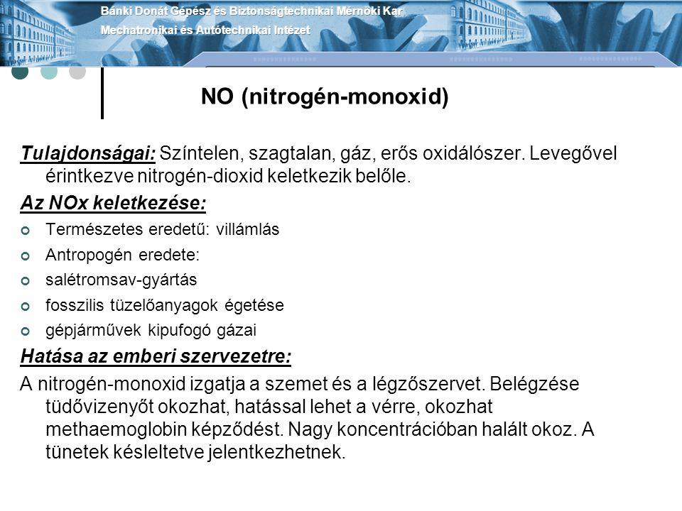 NO (nitrogén-monoxid)