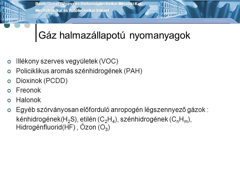Gáz halmazállapotú nyomanyagok