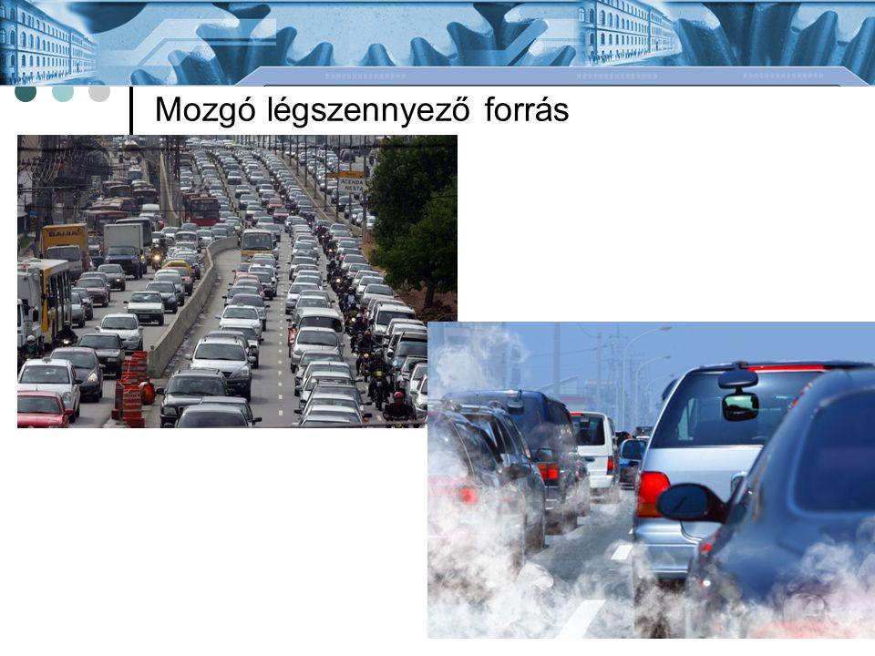 Mozgó légszennyező forrás