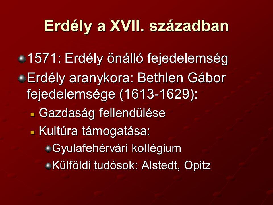 Erdély a XVII. században