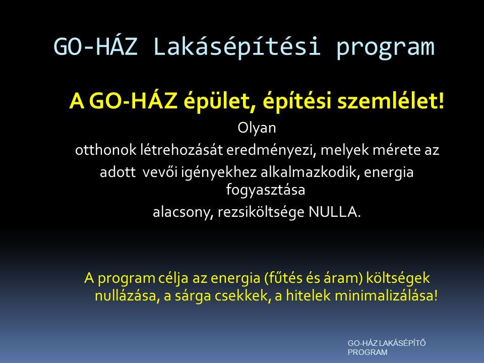 GO-HÁZ Lakásépítési program