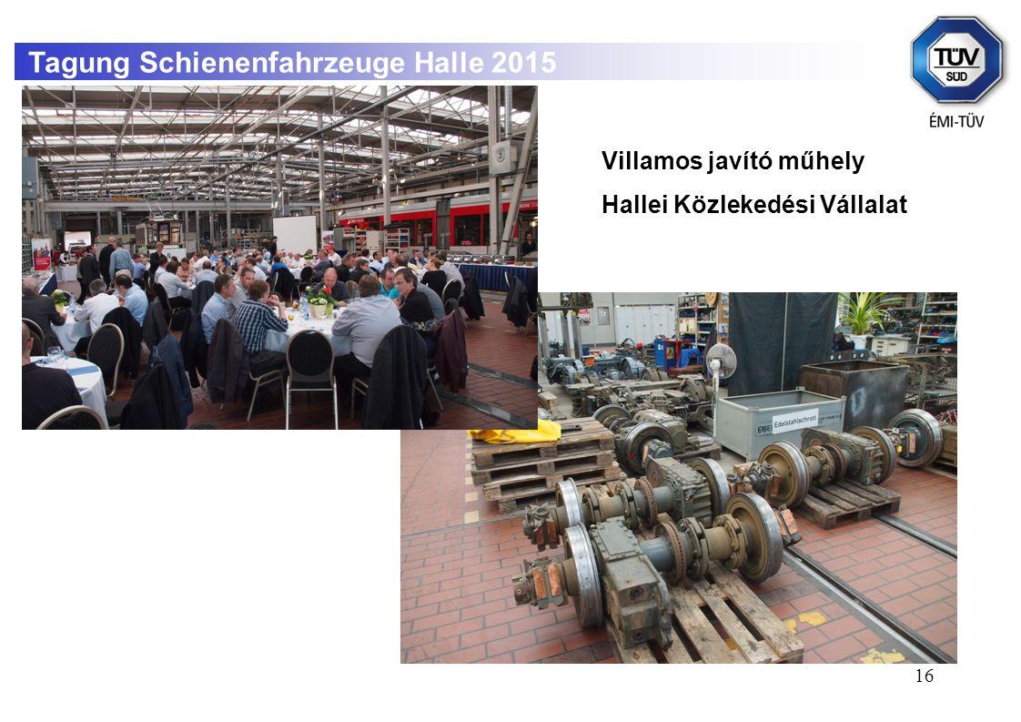 Tagung Schienenfahrzeuge Halle 2015