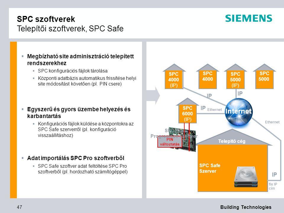 X X SPC szoftverek Telepítői szoftverek, SPC Safe Internet