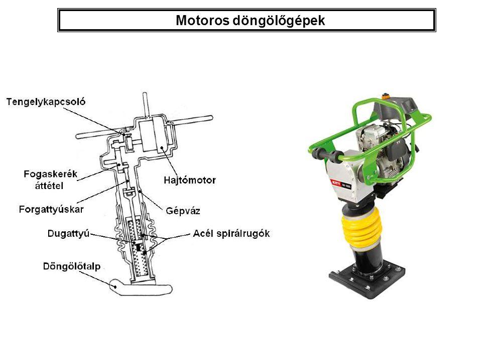 Motoros döngölőgépek
