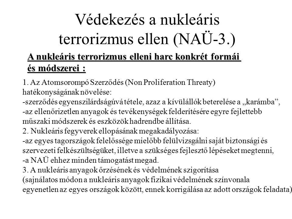 terrorizmus ellen (NAÜ-3.)