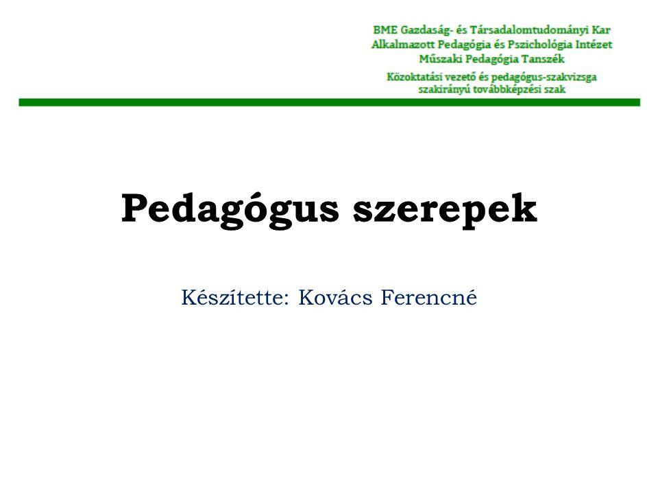 Készítette: Kovács Ferencné