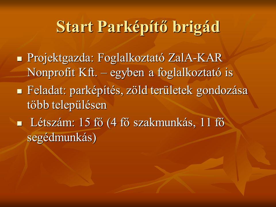 Start Parképítő brigád