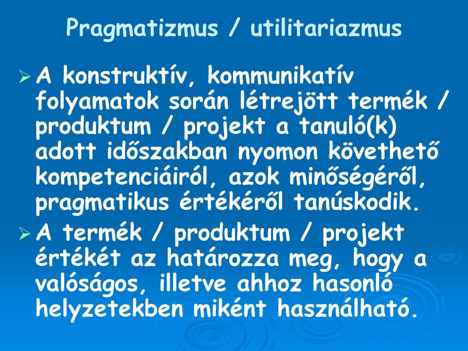 Pragmatizmus / utilitariazmus