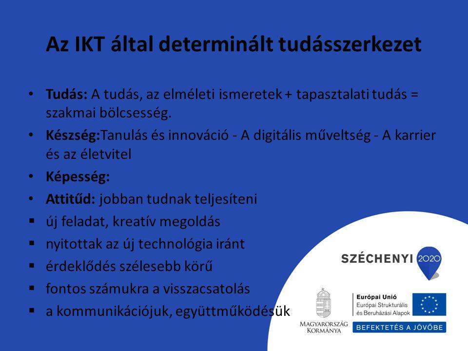 Az IKT által determinált tudásszerkezet