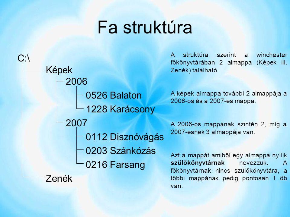 Fa struktúra C:\ Képek 2006 0526 Balaton 1228 Karácsony 2007