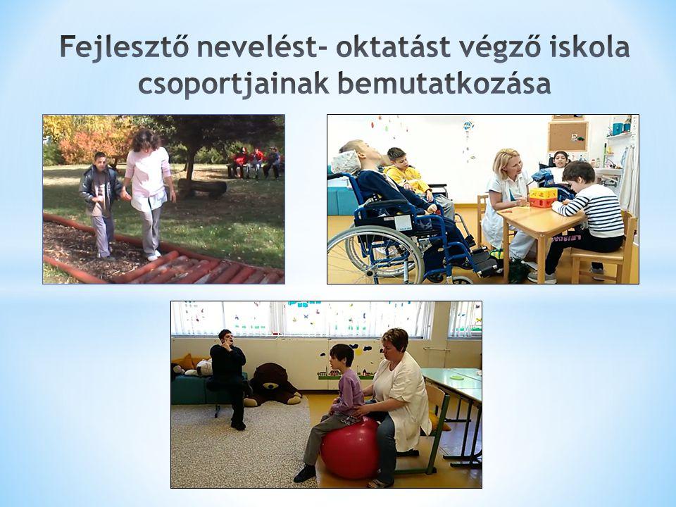 Fejlesztő nevelést- oktatást végző iskola csoportjainak bemutatkozása