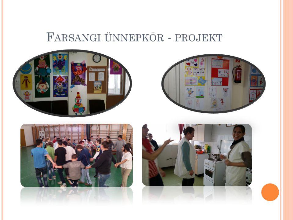 Farsangi ünnepkör - projekt