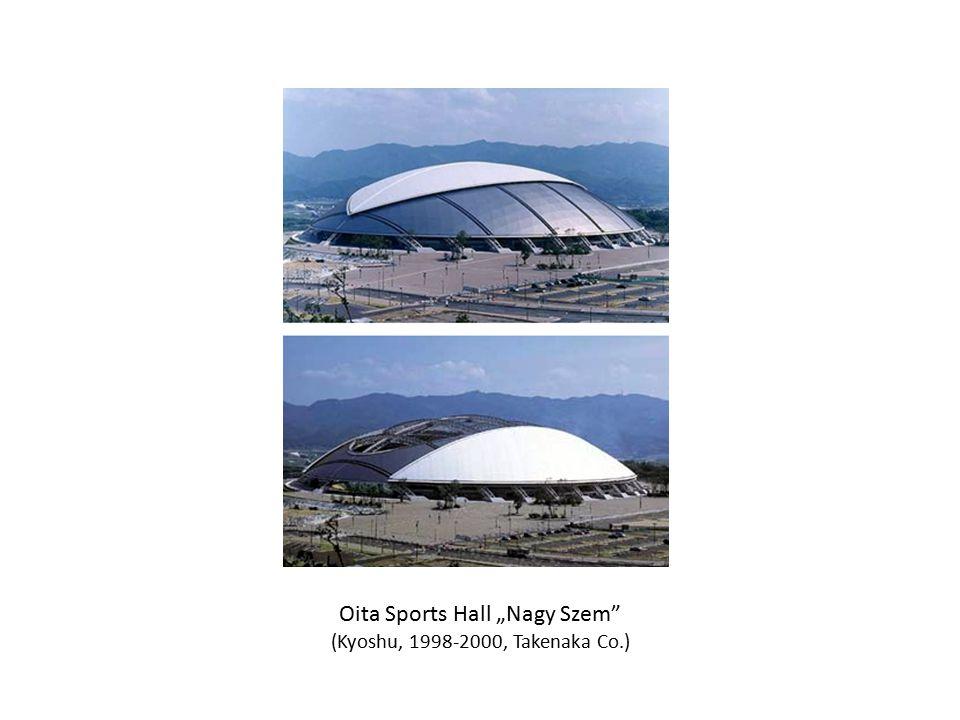 """Oita Sports Hall """"Nagy Szem"""