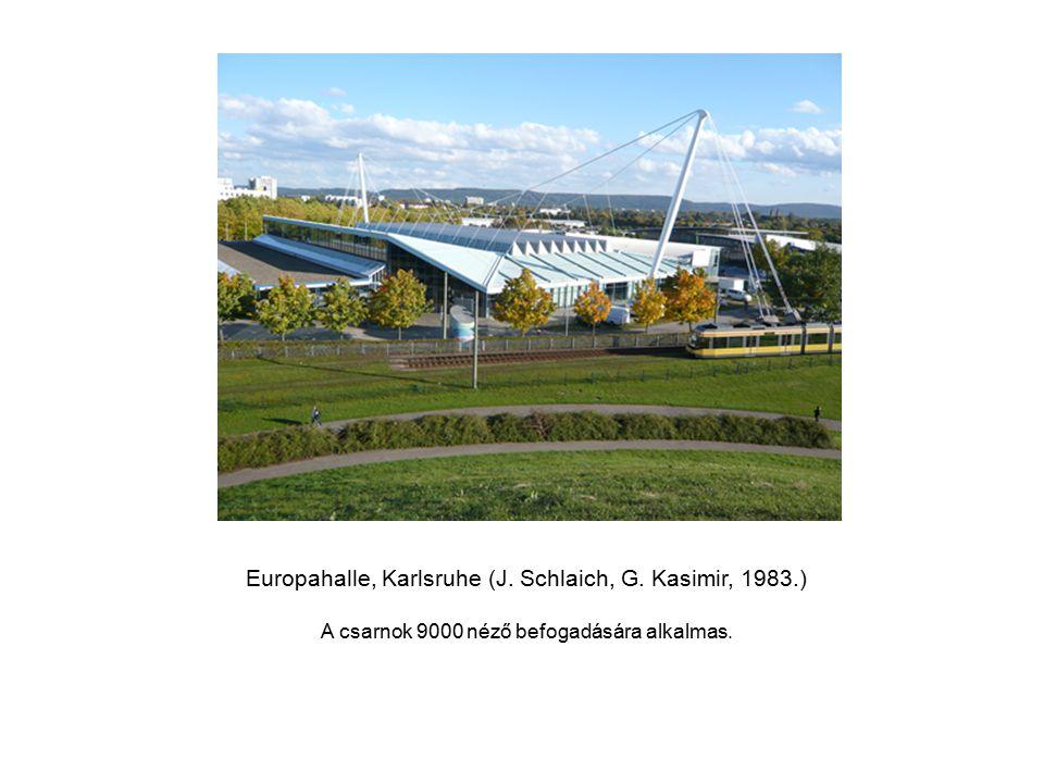Europahalle, Karlsruhe (J. Schlaich, G. Kasimir, 1983.)