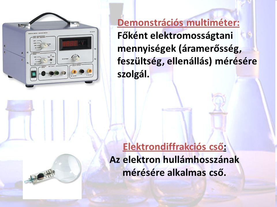 Elektrondiffrakciós cső: