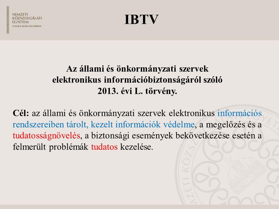 IBTV Az állami és önkormányzati szervek