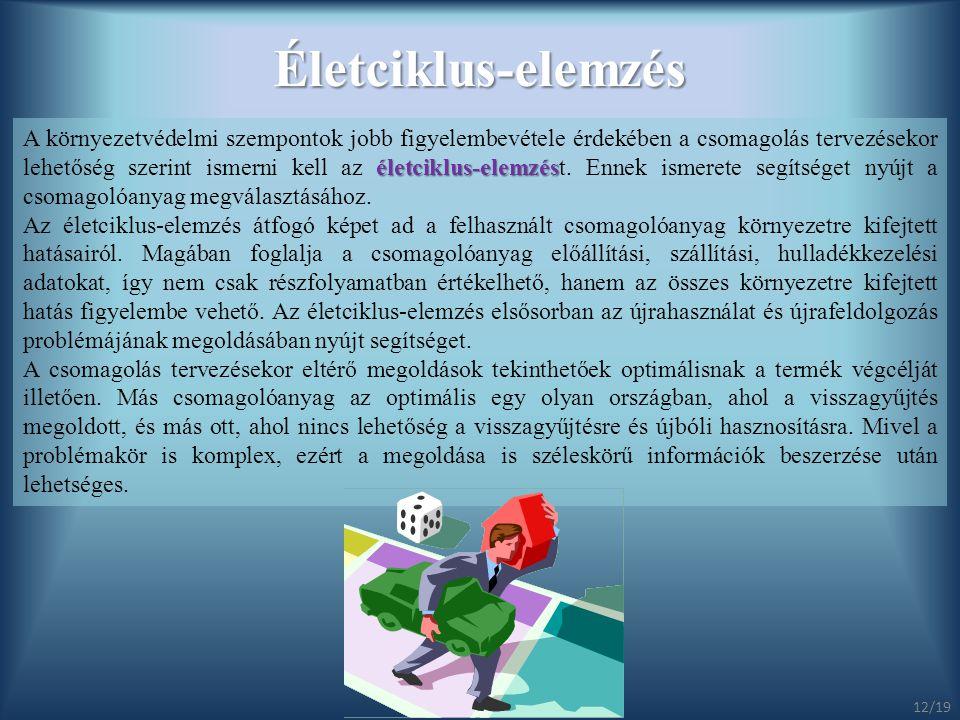 Életciklus-elemzés