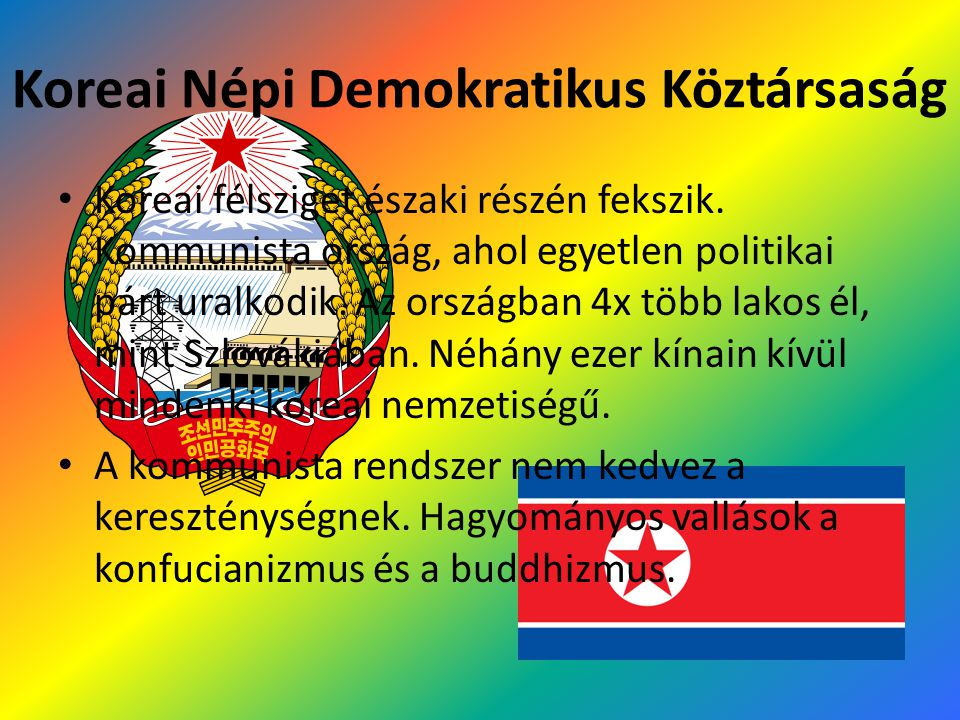 Koreai Népi Demokratikus Köztársaság