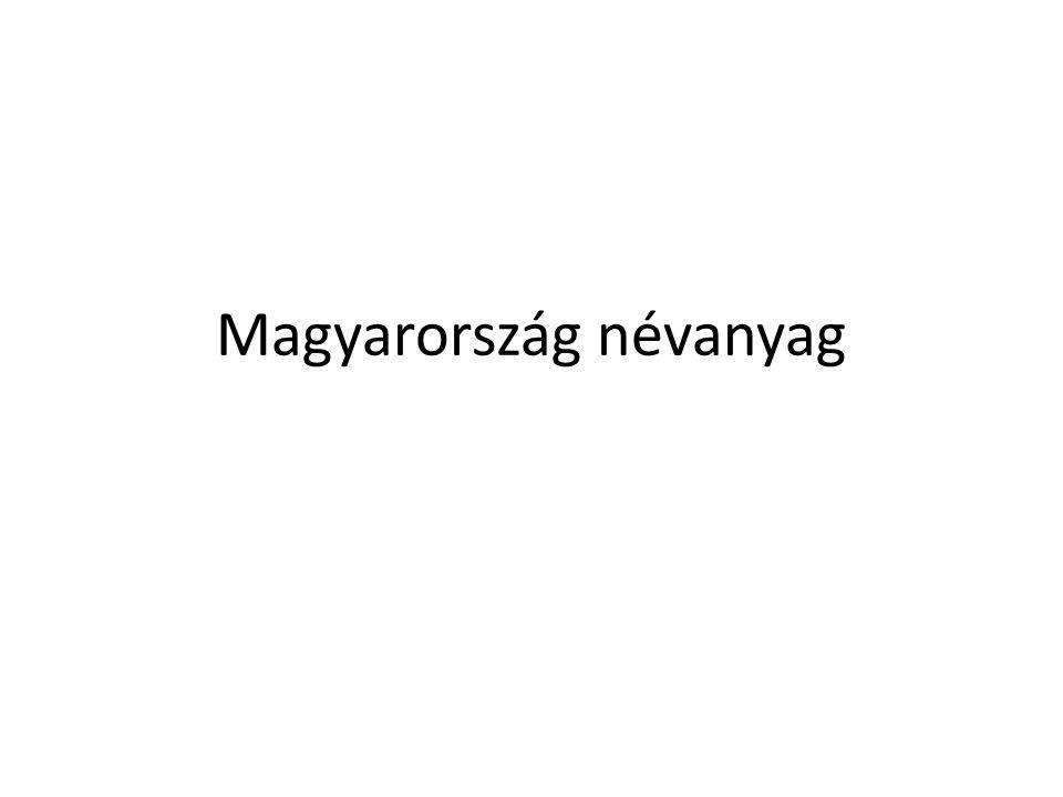 Magyarország névanyag