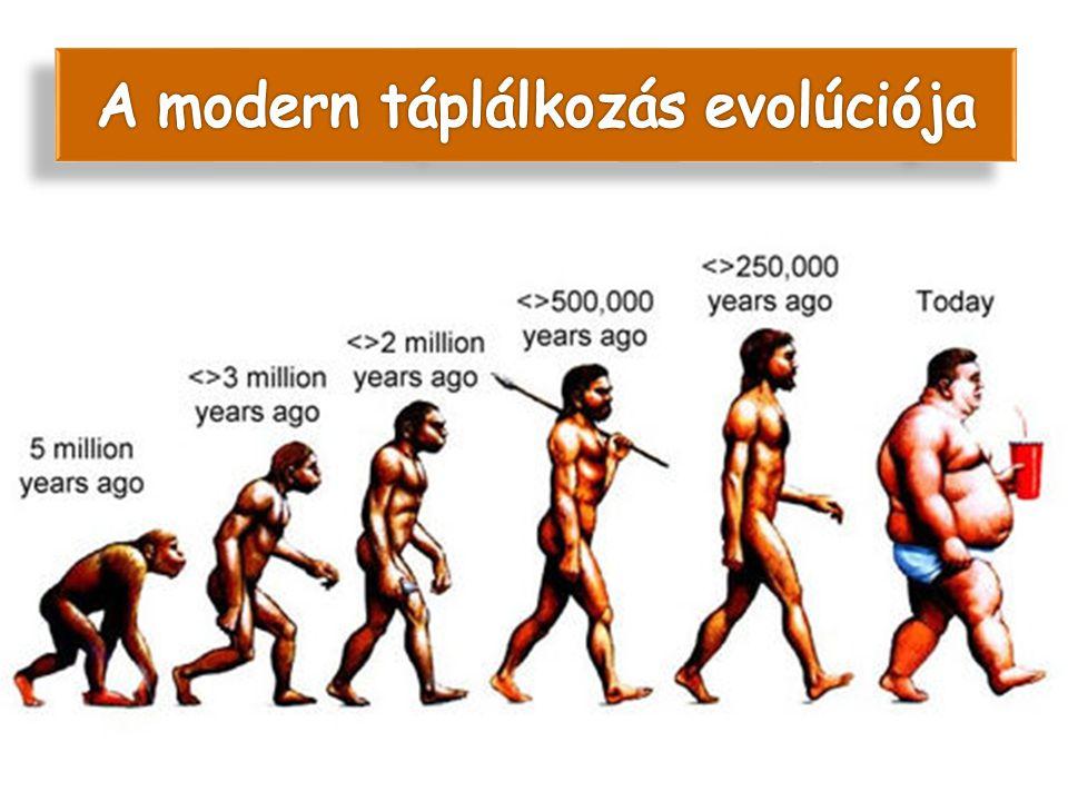 A modern táplálkozás evolúciója