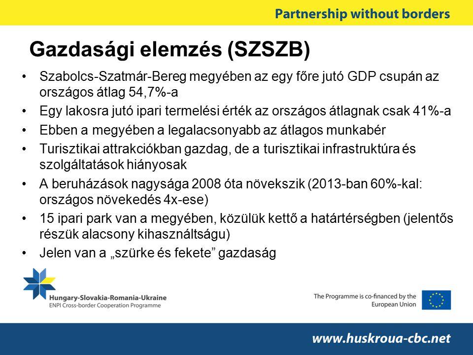 Gazdasági elemzés (SZSZB)