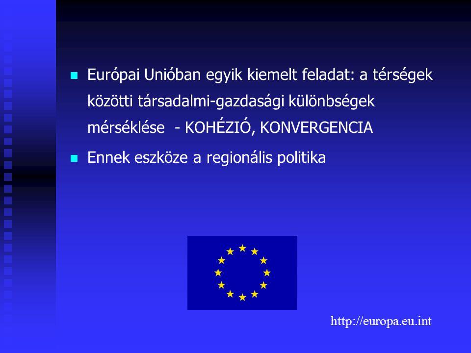 Ennek eszköze a regionális politika