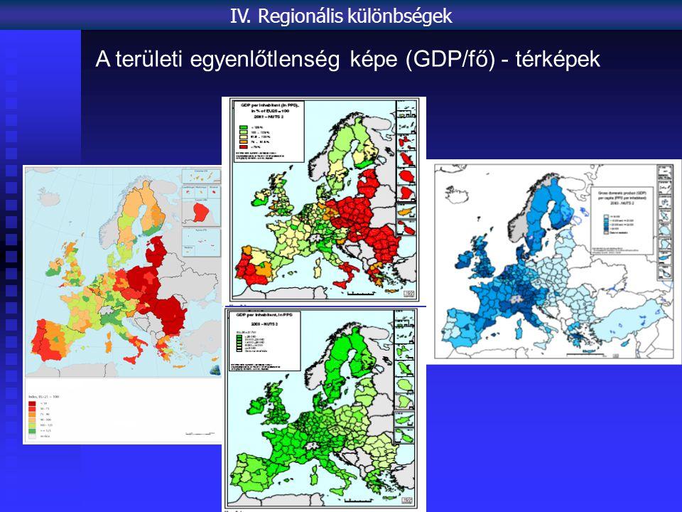 IV. Regionális különbségek
