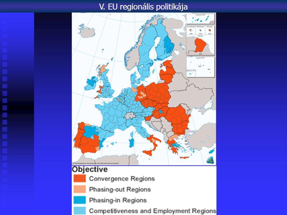 V. EU regionális politikája