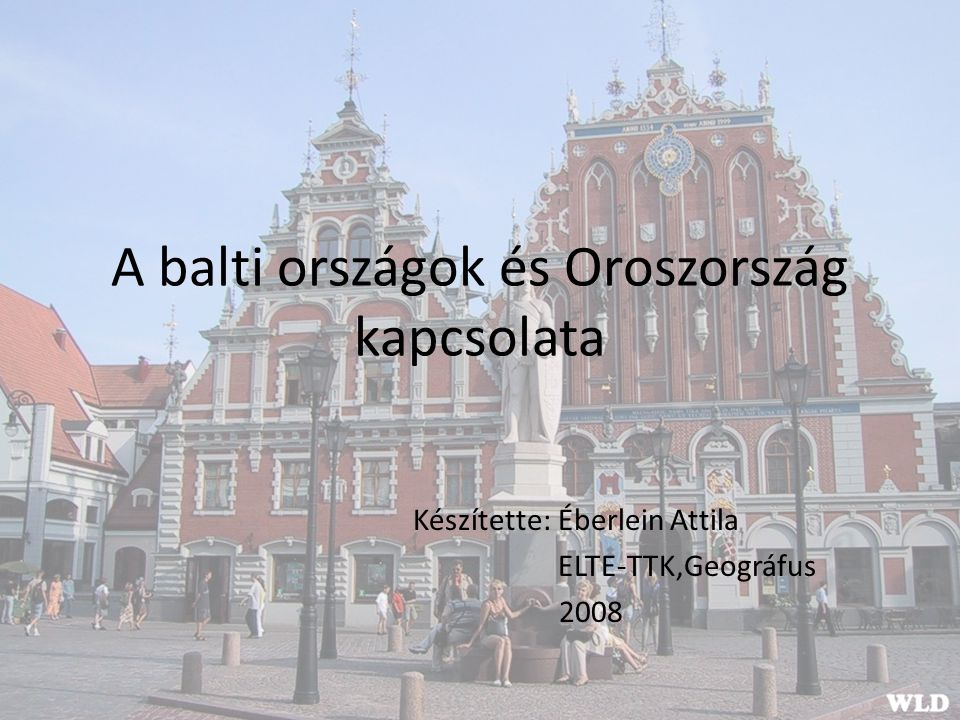 A balti országok és Oroszország kapcsolata