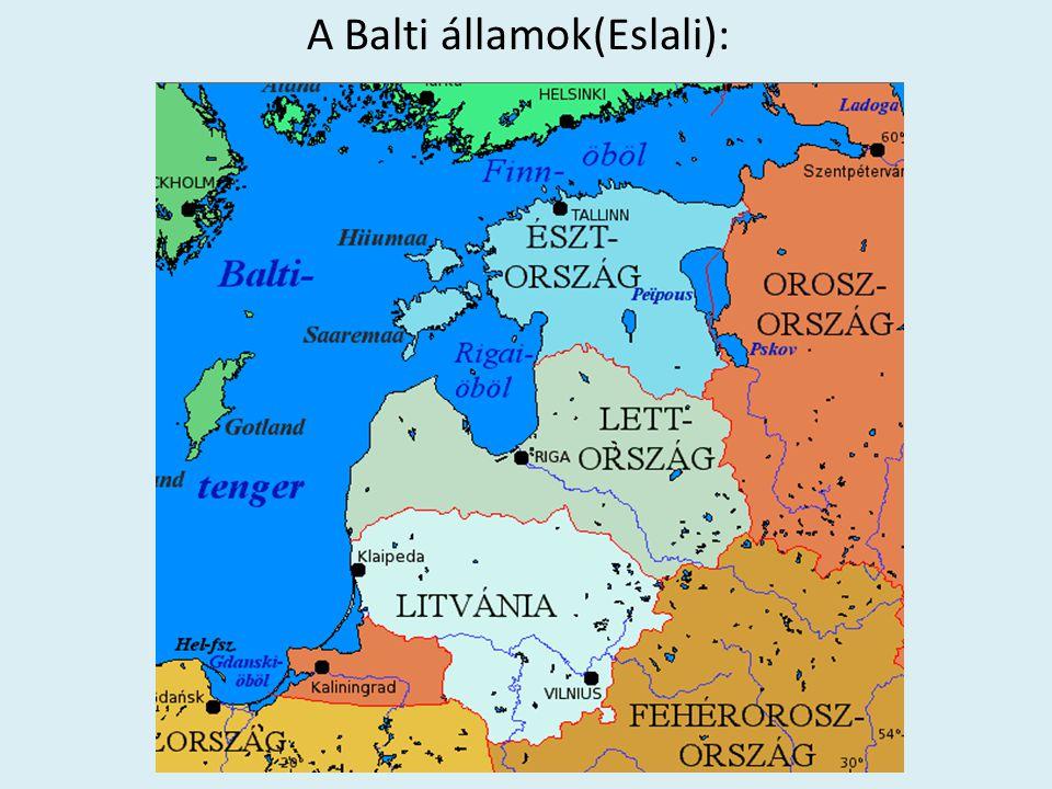 A Balti államok(Eslali):