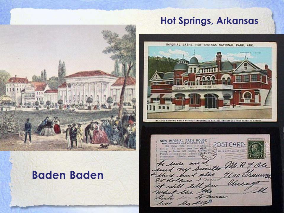 Hot Springs, Arkansas Baden Baden