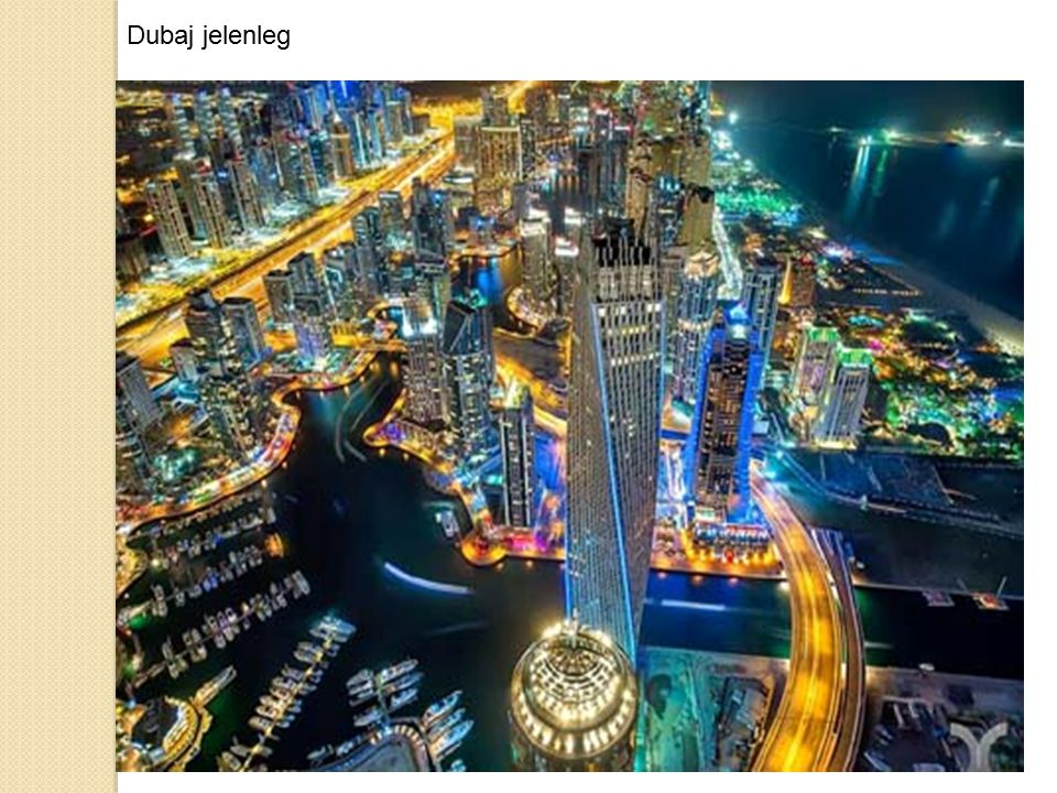 Dubaj jelenleg