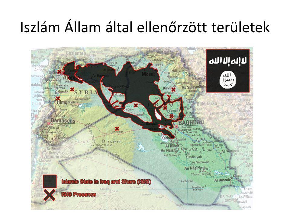 Iszlám Állam által ellenőrzött területek