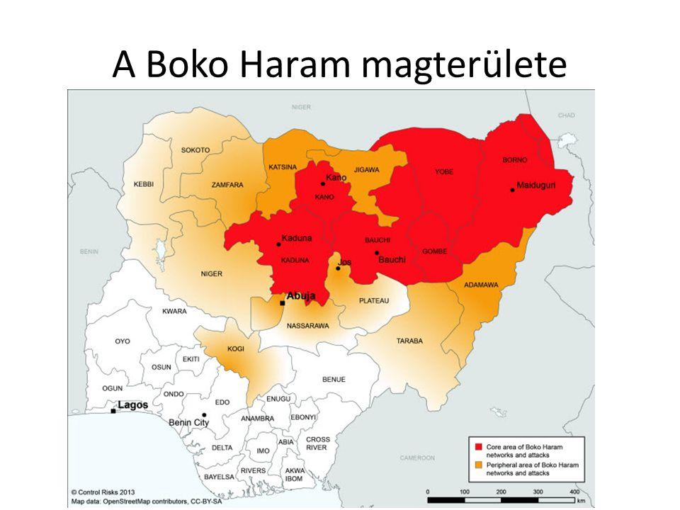 A Boko Haram magterülete