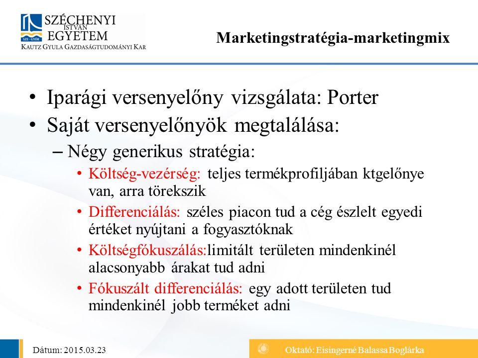 Marketingstratégia-marketingmix