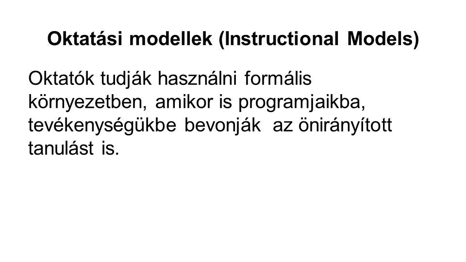 Oktatási modellek (Instructional Models)