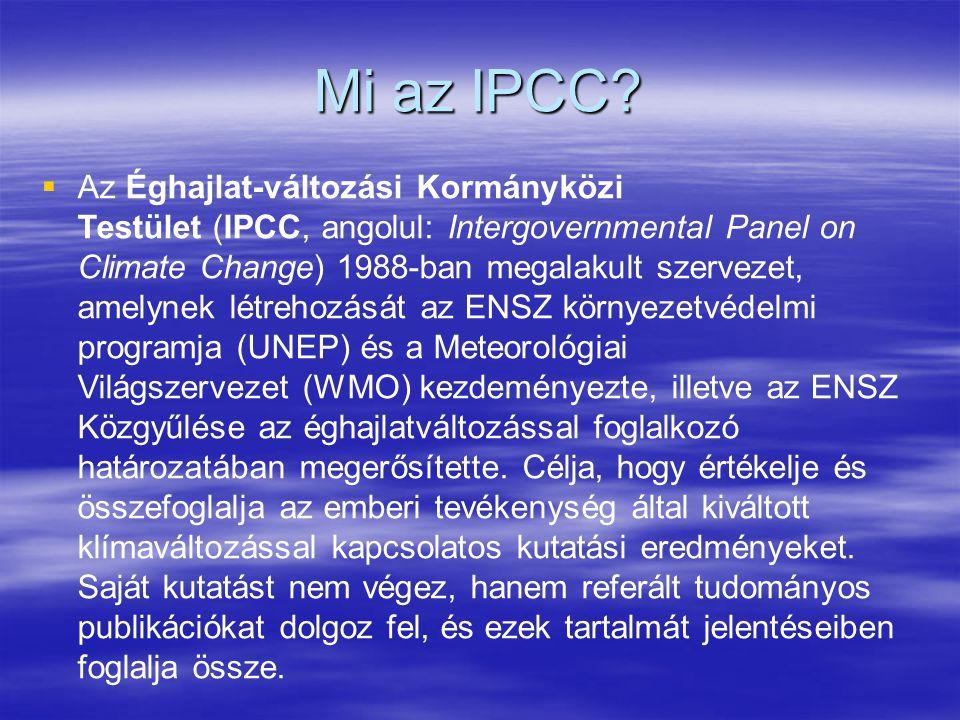 Mi az IPCC