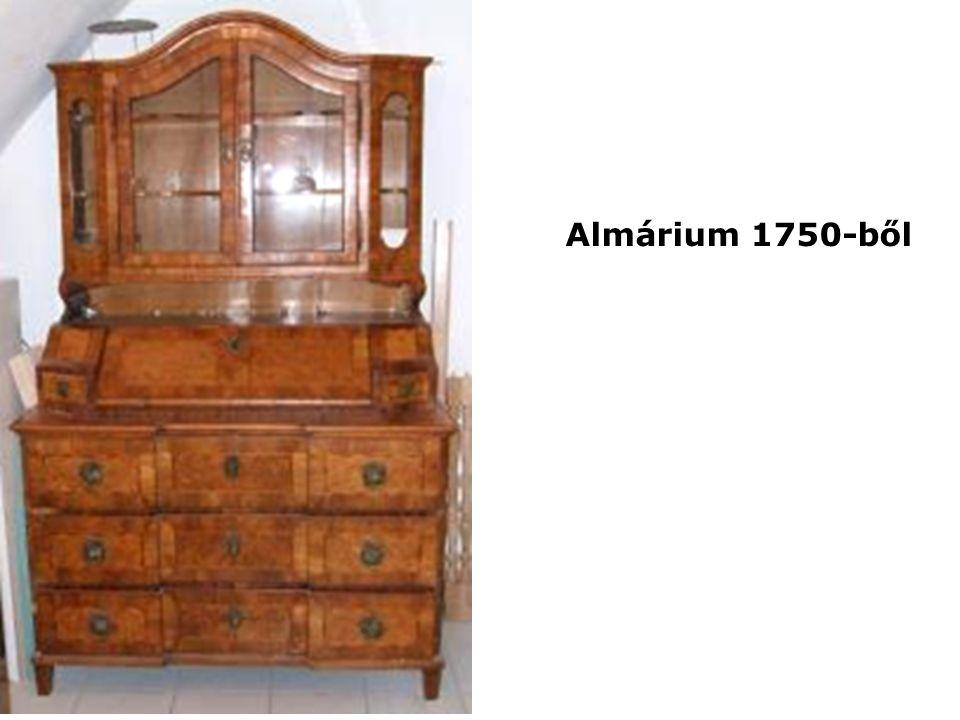Almárium 1750-ből
