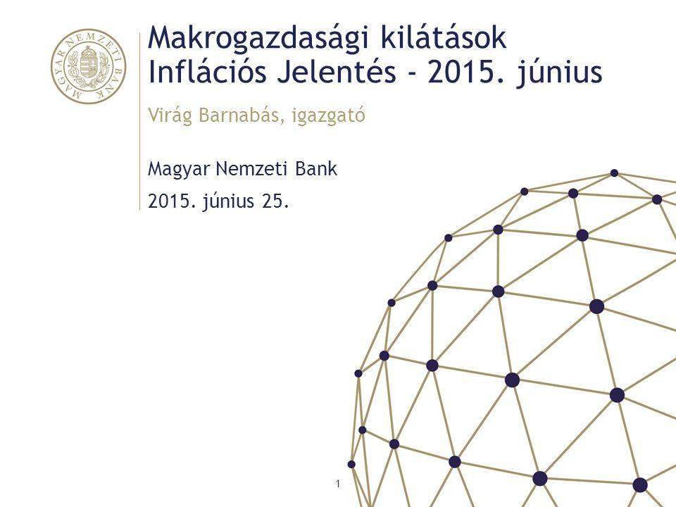 Makrogazdasági kilátások Inflációs Jelentés - 2015. június