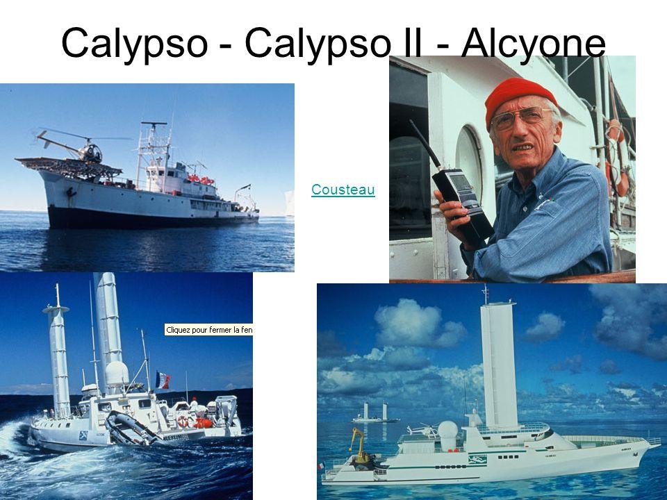 Calypso - Calypso II - Alcyone